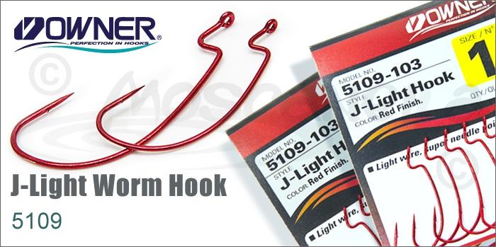 Изображение Owner/C'ultiva 5109 J-Light Worm Hook