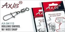 AX-94115 Rolling Swivel w/ Nice Snap