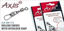 AX-94113 Rolling Swivel With Interlock Snap