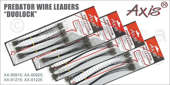 "Изображение Axis AX-90915; AX-90925; AX-91215; AX-91225 Поводок Predator Wire leaders ""Duolock"""