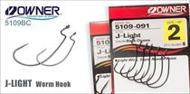 5109BC J-Light Worm Hook